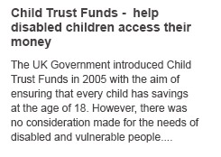 child trust fund access