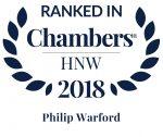 Chambers UK 2018 Philip Warford