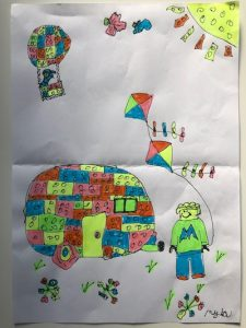 4 -8 age group winner Artwork Competition
